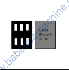 APPLE iPhone 6 U2403 SIM CARD IC