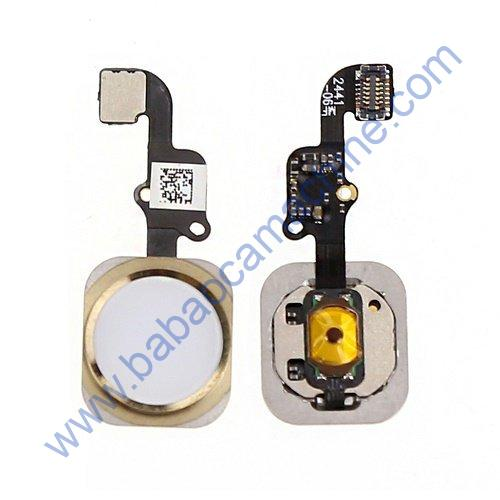 APPLE iPhone 6S PLUS HOME BUTTON WITH FLEX CABLE GOLD