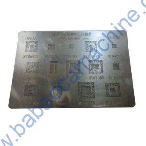 BGA REBELLING STENCIL FOR CPU MT6582 6323GA MT6165V MTK6572A MT6369A SC6531DA