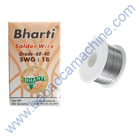 BHARTI FLUX CORED SOLDER WIRE SWG-18
