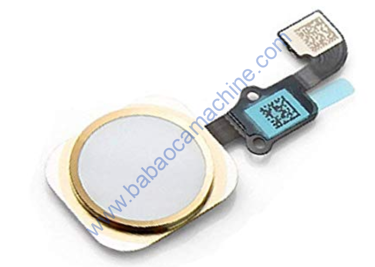 Home Button With Flex Cable For iPhone 6 Plus Gold