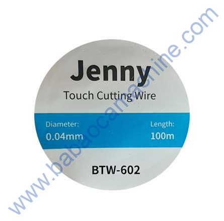 JENNY TOUCH CUTTING WIRE 0.04 (100MM) BTW-602