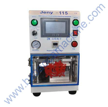 Jeny-115 OCA Laminating Machine Full Setup