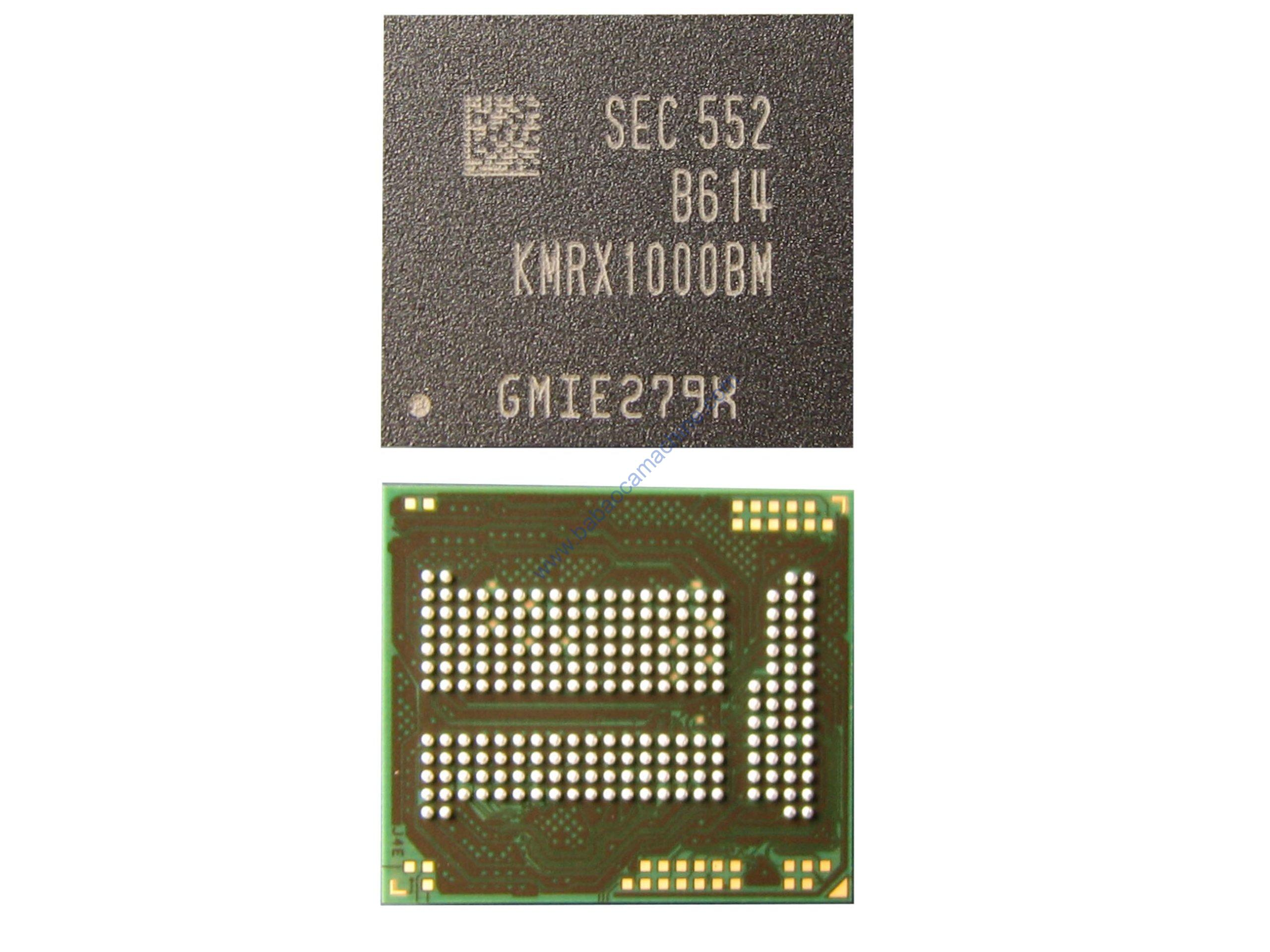 KMRX1000BM-B614 EMMC EMCP NAND Flash Memory IC Chip
