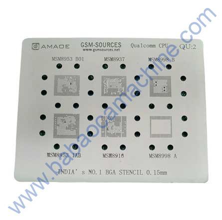 QUALCOMM BGA STENCIL QU:2 For MSM8953 B01
