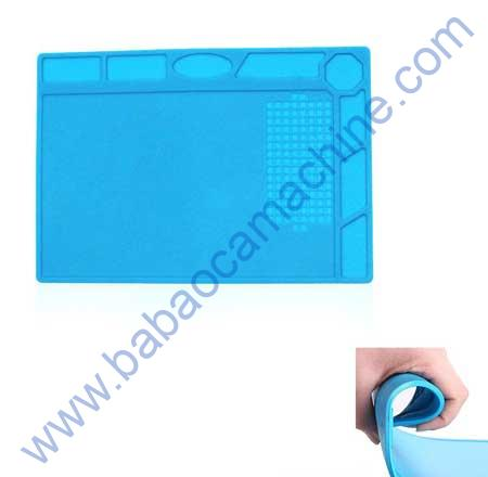 Silicone BLUE Mat SMALL