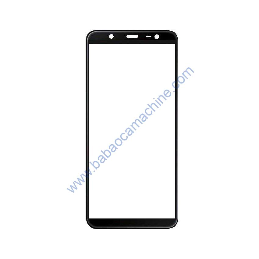 Touch Glass Panel for Samsung Galaxy J8 Black