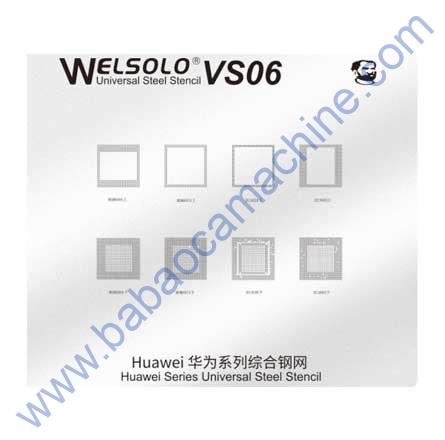 welsolo BGA stencil VS-06