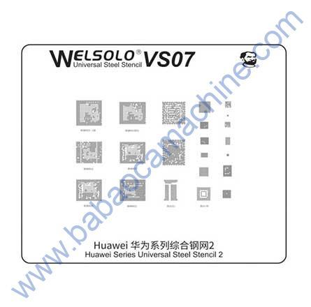 welosolo BGA stencil VS07