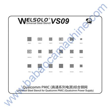 welsolo BGA stencil VS09