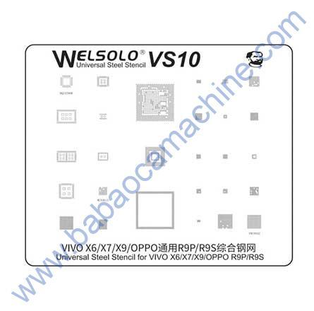 welsolo BGA stencil VS10