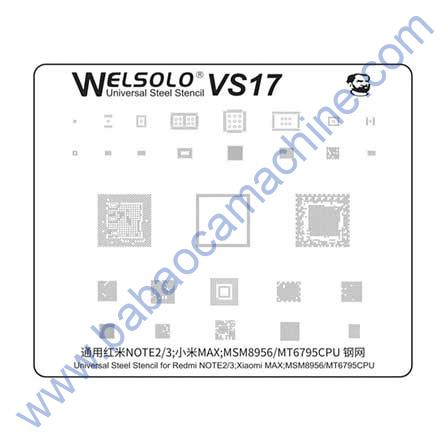 welsolo BGA stencil VS17