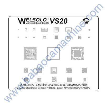 welsolo BGA stencil VS20