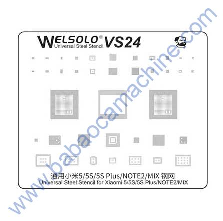 welsolo BGA stencil VS24