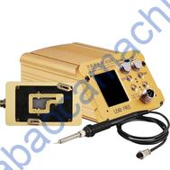 WLHT007 LEAD FREE SOLDERING STATION INTELLIGENT TEMPERATURE CONTROL MOTHERBOARD PREHEATER FOR iPhone X XS MAX