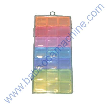 MULTI COLOR PLASTIC BOX FOR IC KEEPING