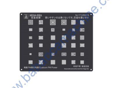 Black Android Stencil For PM CPU Reballing Qianli-QL20