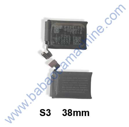 iWatch S3 38mm battery