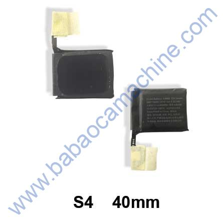 iwatch S4-40mm battery