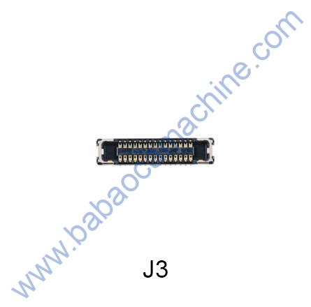 J3-LCD-CONNECTER-SAMSUNG