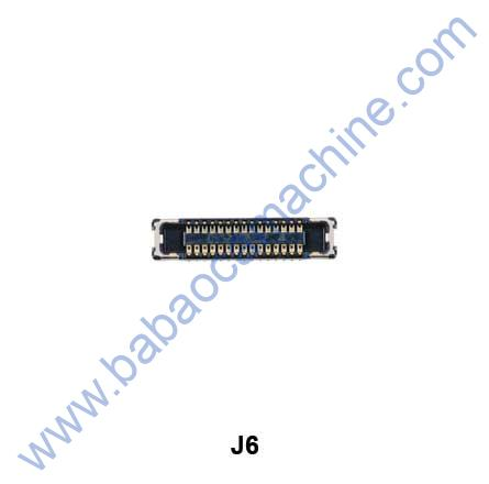 J6-LCD--Connecter