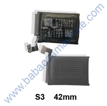 iWatch S3 42mm battery