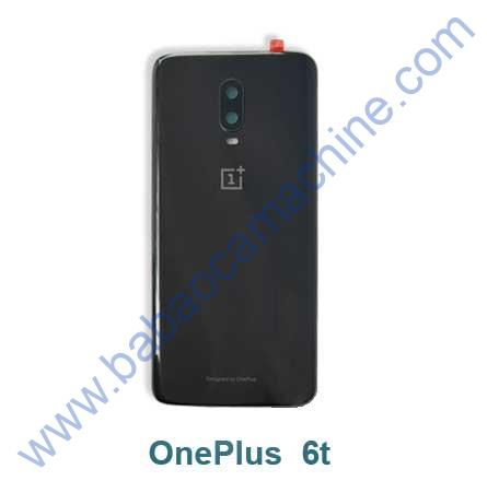 oneplus-6t-black-back glass