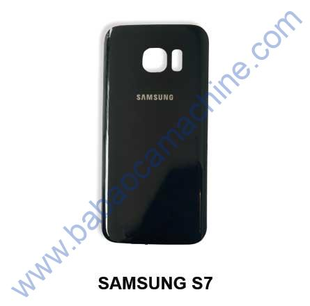 samsung-s7 back glass blue