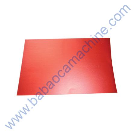 Mobile Back Cover Guard Sheet red