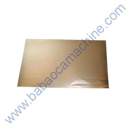 Mobile Back Guard Sheet Gold