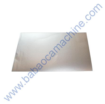 Mobile Back Cover Guard Sheet silver