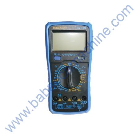 BABA Dm15N Digital Multimeter