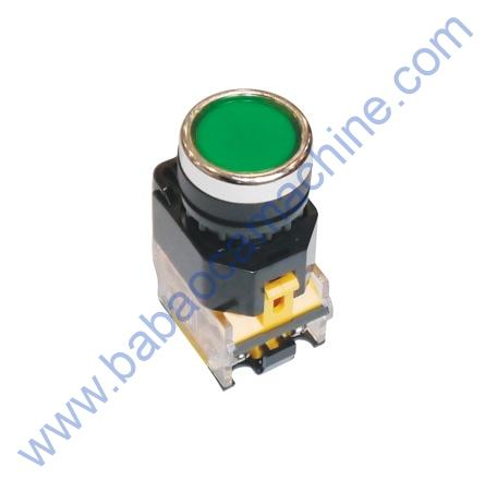 push switch button green