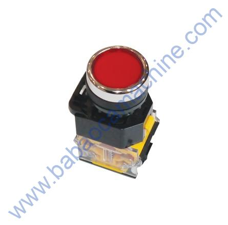 push switch button red