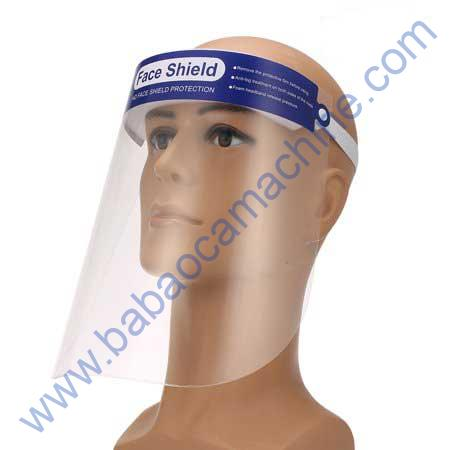 Protective Face Shield Durable Clear Plastic